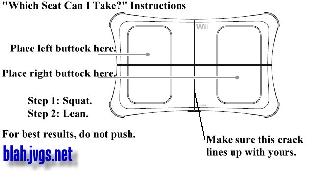 Friday: Wii Wii So Excited Balance Board Instructions