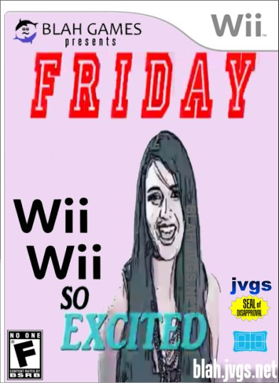 Friday: Wii Wii So Excited parody game