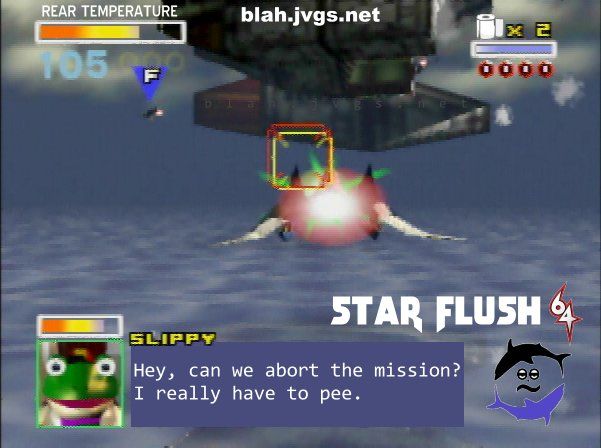 Star Flush 64 parody game